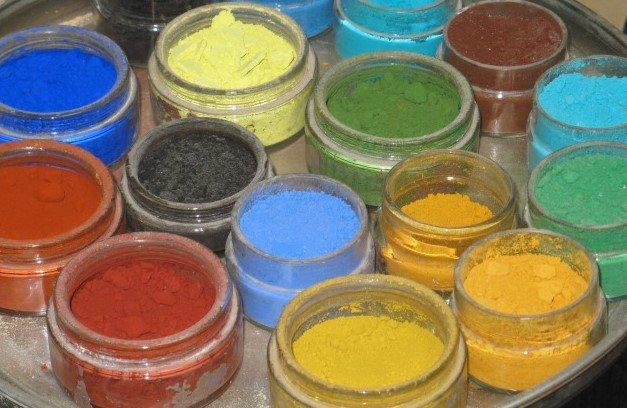 Minerālie pigmenti