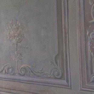 Freska, privātais interjers